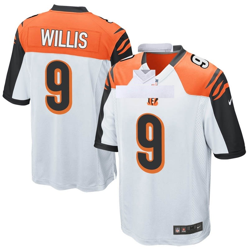 huge discount 92f3a 290db Men's Nike Cincinnati Bengals Damion Willis White Jersey - Game