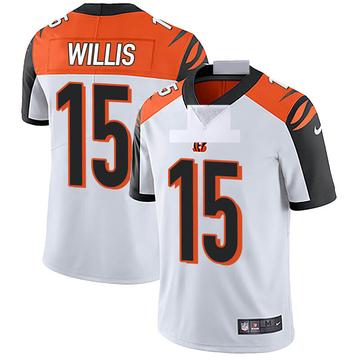 Men's Nike Cincinnati Bengals Damion Willis White Vapor Untouchable Jersey - Limited