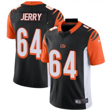 Men's Nike Cincinnati Bengals John Jerry Black Team Color Vapor Untouchable Jersey - Limited