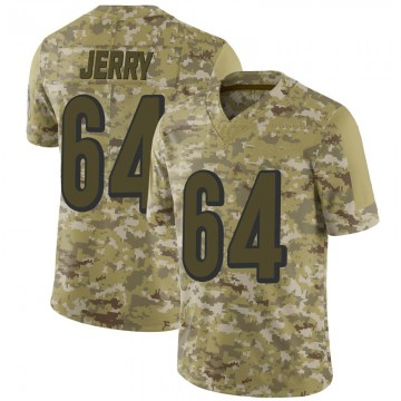 Men's Cincinnati Bengals John Jerry Camo 2018 Salute to Service Jersey - Limited