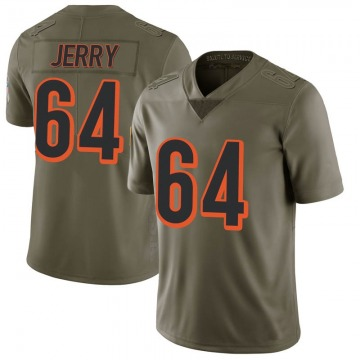 Men's Nike Cincinnati Bengals John Jerry Green 2017 Salute to Service Jersey - Limited