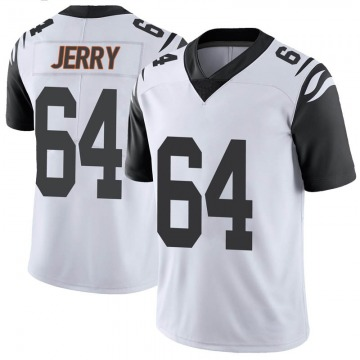 Men's Nike Cincinnati Bengals John Jerry White Color Rush Vapor Untouchable Jersey - Limited