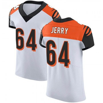 Men's Nike Cincinnati Bengals John Jerry White Vapor Untouchable Jersey - Elite