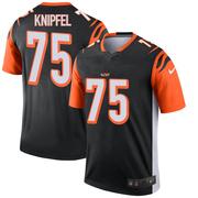 Men's Nike Cincinnati Bengals Josh Knipfel Black Jersey - Legend