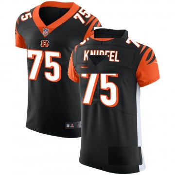 Men's Cincinnati Bengals Josh Knipfel Black Team Color Vapor Untouchable Jersey - Elite