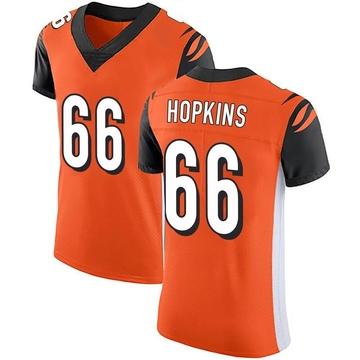 Men's Nike Cincinnati Bengals Trey Hopkins Orange Alternate Vapor Untouchable Jersey - Elite