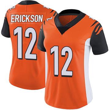 Women's Nike Cincinnati Bengals Alex Erickson Orange Vapor Untouchable Jersey - Limited