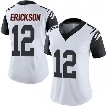 Women's Nike Cincinnati Bengals Alex Erickson White Color Rush Vapor Untouchable Jersey - Limited