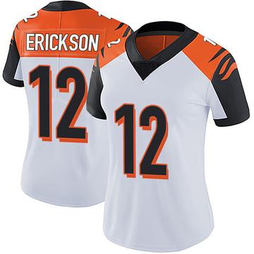 Women's Nike Cincinnati Bengals Alex Erickson White Vapor Untouchable Jersey - Limited