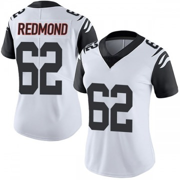 Women's Nike Cincinnati Bengals Alex Redmond White Color Rush Vapor Untouchable Jersey - Limited