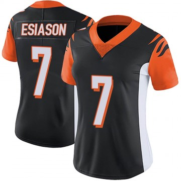 Women's Nike Cincinnati Bengals Boomer Esiason Black Team Color Vapor Untouchable Jersey - Limited
