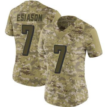 Women's Nike Cincinnati Bengals Boomer Esiason Camo 2018 Salute to Service Jersey - Limited