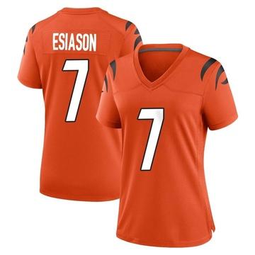 Women's Nike Cincinnati Bengals Boomer Esiason Orange Jersey - Game