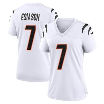 Women's Nike Cincinnati Bengals Boomer Esiason White Jersey - Game