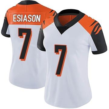 Women's Nike Cincinnati Bengals Boomer Esiason White Vapor Untouchable Jersey - Limited