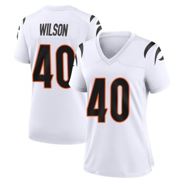 Women's Nike Cincinnati Bengals Brandon Wilson White Jersey - Game