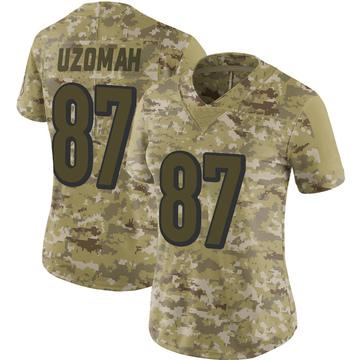Women's Nike Cincinnati Bengals C.J. Uzomah Camo 2018 Salute to Service Jersey - Limited