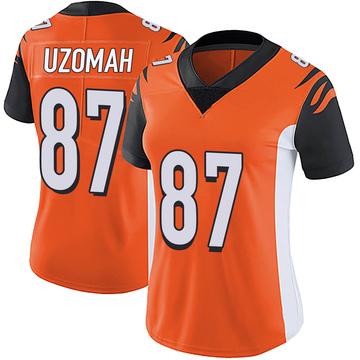 Women's Nike Cincinnati Bengals C.J. Uzomah Orange Vapor Untouchable Jersey - Limited
