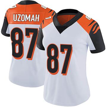 Women's Nike Cincinnati Bengals C.J. Uzomah White Vapor Untouchable Jersey - Limited