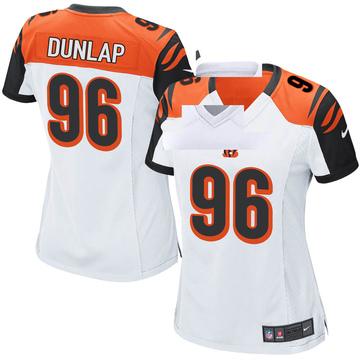 Women's Nike Cincinnati Bengals Carlos Dunlap White Jersey - Game