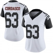Women's Nike Cincinnati Bengals Clay Cordasco White Color Rush Vapor Untouchable Jersey - Limited