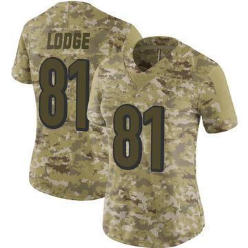 Women's Nike Cincinnati Bengals DaMarkus Lodge Camo 2018 Salute to Service Jersey - Limited