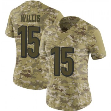 Women's Nike Cincinnati Bengals Damion Willis Camo 2018 Salute to Service Jersey - Limited