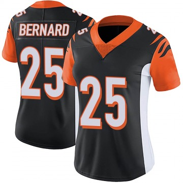Women's Nike Cincinnati Bengals Giovani Bernard Black Team Color Vapor Untouchable Jersey - Limited