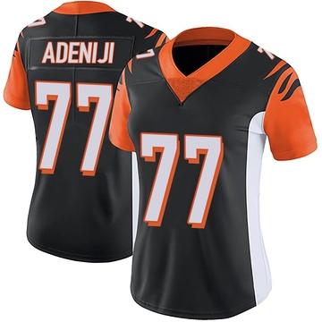 Women's Nike Cincinnati Bengals Hakeem Adeniji Black Team Color Vapor Untouchable Jersey - Limited