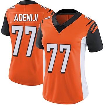 Women's Nike Cincinnati Bengals Hakeem Adeniji Orange Vapor Untouchable Jersey - Limited