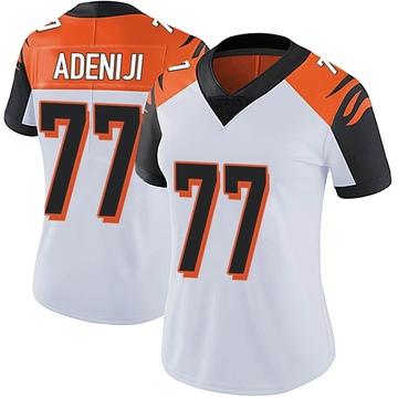 Women's Nike Cincinnati Bengals Hakeem Adeniji White Vapor Untouchable Jersey - Limited