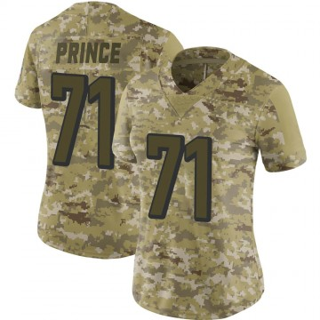 Women's Nike Cincinnati Bengals Isaiah Prince Camo 2018 Salute to Service Jersey - Limited