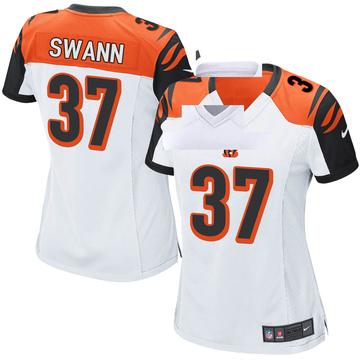 Women's Nike Cincinnati Bengals Isiah Swann White Jersey - Game