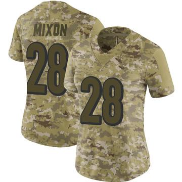 Women's Nike Cincinnati Bengals Joe Mixon Camo 2018 Salute to Service Jersey - Limited