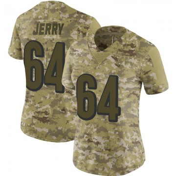 Women's Nike Cincinnati Bengals John Jerry Camo 2018 Salute to Service Jersey - Limited