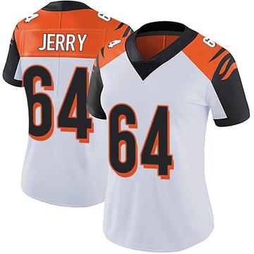 Women's Nike Cincinnati Bengals John Jerry White Vapor Untouchable Jersey - Limited