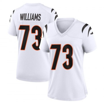 Women's Nike Cincinnati Bengals Jonah Williams White Jersey - Game
