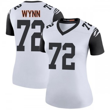 Women's Nike Cincinnati Bengals Kerry Wynn White Color Rush Jersey - Legend