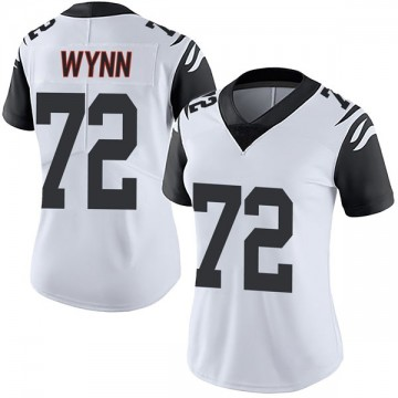 Women's Nike Cincinnati Bengals Kerry Wynn White Color Rush Vapor Untouchable Jersey - Limited