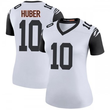 Women's Nike Cincinnati Bengals Kevin Huber White Color Rush Jersey - Legend
