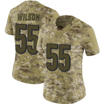 Women's Nike Cincinnati Bengals Logan Wilson Camo 2018 Salute to Service Jersey - Limited