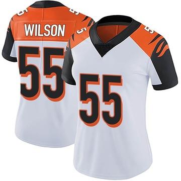 Women's Nike Cincinnati Bengals Logan Wilson White Vapor Untouchable Jersey - Limited