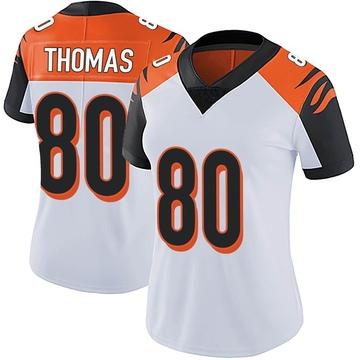 Women's Nike Cincinnati Bengals Mike Thomas White Vapor Untouchable Jersey - Limited