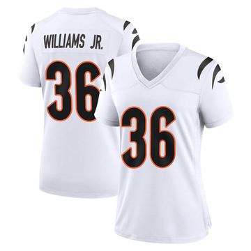 Women's Nike Cincinnati Bengals Shawn Williams White Jersey - Game