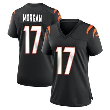 Women's Nike Cincinnati Bengals Stanley Morgan Jr. Black Team Color Jersey - Game