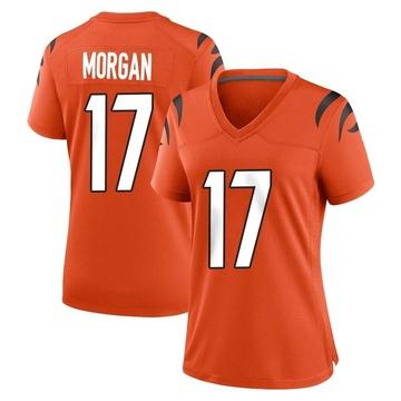 Women's Nike Cincinnati Bengals Stanley Morgan Jr. Orange Jersey - Game