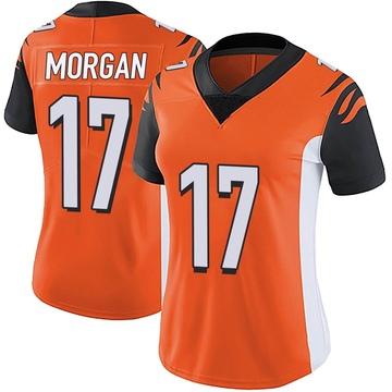 Women's Nike Cincinnati Bengals Stanley Morgan Jr. Orange Vapor Untouchable Jersey - Limited
