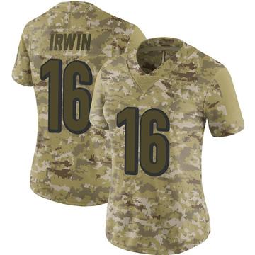 Women's Nike Cincinnati Bengals Trenton Irwin Camo 2018 Salute to Service Jersey - Limited