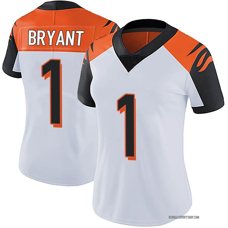 100% authentic b8b48 9db36 Women's Nike Cincinnati Bengals Ventell Bryant White Vapor Untouchable  Jersey - Limited