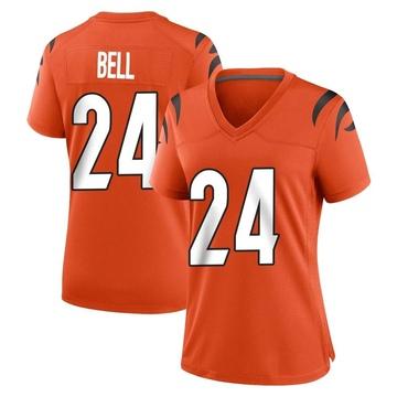Women's Nike Cincinnati Bengals Vonn Bell Orange Jersey - Game